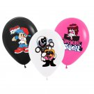 12pcs/Lot Friday Night Funkin Skin Pump Boyfriend Balloon Game Supplies Toy Birthday Party Decor