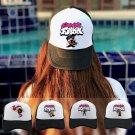Friday Night Funkin Baseball Cap Spooky Month Skid and Pump Trucker Hat Men Women Breathable Mesh