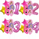 Barbie Princess Balloon Pink Number Birthday Party Decor Supplies Gift