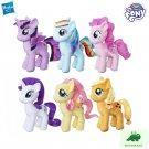 2016 Hasbro My Little Pony Twilight Sparkle AppleJack FlutterShy Rarity Rainbow Dash Plush Toy