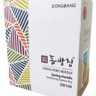 Dong Bang DB108 BLISTER PACKAGE 1000pcs Disposable Acupuncture Needle  0.30  X 50mm
