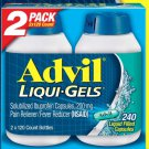 Advil Liqui-Gels Ibuprofen 200 mg., 240 Capsules