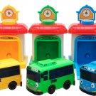 Tayo Rogi Lani Shooting-Car Station - The Little Bus Tayo Friends Toy Car 3P