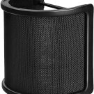 Pop Filter Metal Mesh & Foam & Etamine Layer Microphone Pop Filter