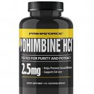 PrimaForce Yohimbine HCl, 2.5mg Capsules - Weight Loss Supplement
