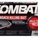 Combat Roach Killing Bait Stations for Small Roaches, 12 Count