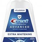 Crest Pro-Health Advanced Mouthwash, Alcohol Free, Extra Whitening, Energizing Mint Flavor