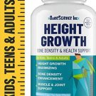 Height Growth Maximizer - Natural Peak Height - Made in USA - Height Pills Bone Growth - Grow Taller
