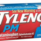 Tylenol Pm Extra Strength Pain Reliever + Sleep Aid, 225-caplets ( 1 Pack )