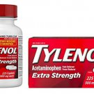 Tylenol Extra Strength Caplets with 500 mg Acetaminophen, Pain Reliever & Fever Reducer, 225 ct