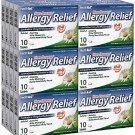 HealthA2Z Allergy Relief, Non-Drowsy, Loratadine 10mg/Antihistamine, 24 Packs