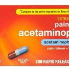 Rite Aid Extra Strength Acetaminophen Rapid Release Gelcaps-100ct