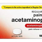 Rite Aid Regular Strength Acetaminophen, 325mg - 100 Tablets | Pain Reliever and Fever Reducer