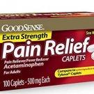 GoodSense Extra Strength Pain Relief, Acetaminophen Caplets, 500 mg