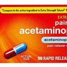 Rite Aid Acetaminophen Rapid Release Gelcaps, 500 mg - 50 Gel Caps | Pain Reliever & Fever Reducer