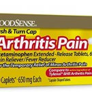 GoodSense Acetaminophen Extended-Release Tablets 650 mg (Arthritis Pain), 100 Count