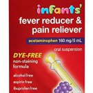 Rite Aid Infants Fever Reducer & Pain Reliever Oral Suspension, Grape Flavor
