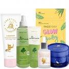 FaceTory Facial Spa Skin Care Set for Combination Skin - Balancing, Moisturizing, Hydrating,