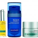 Algenist C Spots Go Mini Facial Trio Kit - 3-Piece Mini Skincare Set - Blue Algae Vitamin C (12ml),