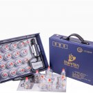 Hansol Cupping Therapy Equipment Set with Pumping Handle 17 Cups (Made in Korea)