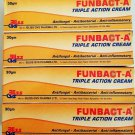 4x Original Funbact Cream.Fast remedy for Acne, spots and pimples(free shipping)