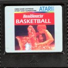 REAL SPORTS BASKETBALL for ATARI 5200 SuperSystem, cartridge ONLY ... NEW