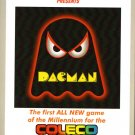 DACMAN for Colecovision / ADAM Cartridge. NEW / CIB - NO SGM needed