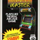 KUNG FU MASTER for Colecovision / ADAM Cart. NEW / CIB, SUPER GAME MODULE REQ'D