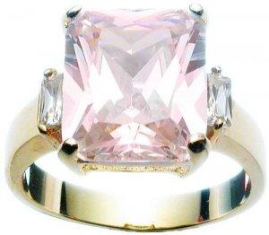 Rhodium Sparkle Ring