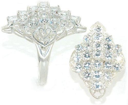 5ct Round Brilliant Cut Diamond CZ Ring