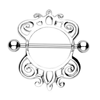 Abstract Nipple Shield Pair #3