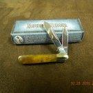 Rough Rider Barlow Miniature Brown Bone Knife RR924