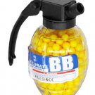 Grenade 500 Airsoft Plastic BB's 6MM 0.12G Yellow Speed Loader Bottle