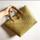 Bag To Nature, Handwoven Rattan Tote