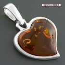 Amber Heart Necklace - Poland