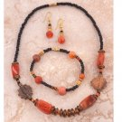 Exotic African Jewelry Set - Ghana