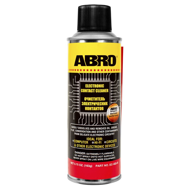 ABRO ELECTRONIC CONTACT CLEANER 163g