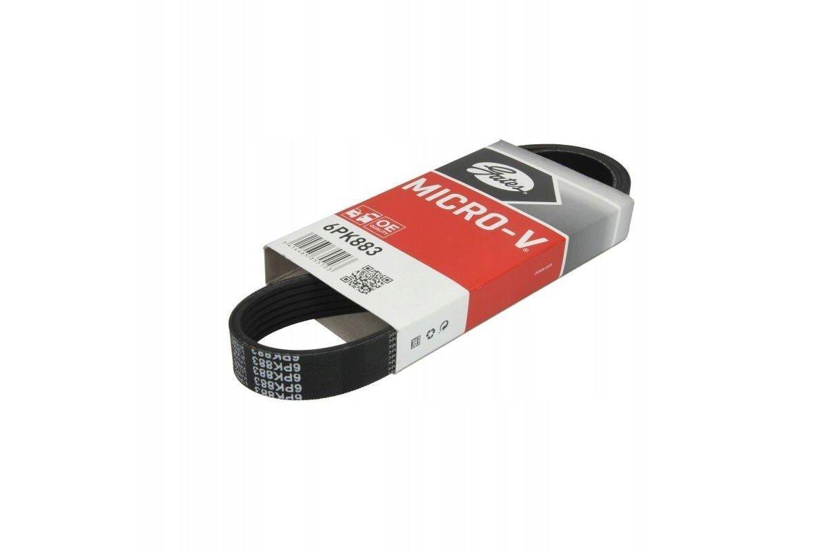 Ruched belt GATES 6 PK 883