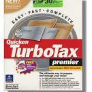 TurboTax Premier 2001 Federal Returns Turbo Tax