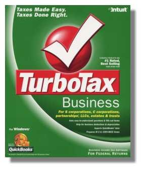 TurboTax Business 2004 Federal Return Corporations and Partnerships Turbo Tax