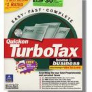 TurboTax Premier 2001 Federal Returns Home & BusinessTurbo Tax