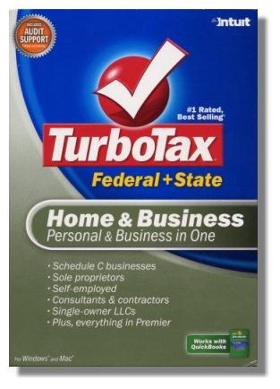 2007 TurboTax Federal Home and Business 2007 Win/Mac Turbo Tax