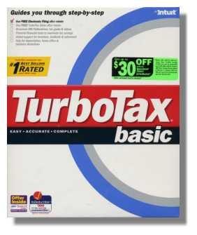 TurboTax 2000 Federal Basic Turbo Tax NEW
