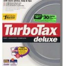 TurboTax Deluxe 1994 Federal Turbo Tax
