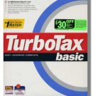 TurboTax 1998 Federal Basic Turbo Tax