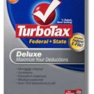 2008 TurboTax Federal Deluxe STATE EFILE NEW NIB Deduction Maximizer 2008 Win/Mac Turbo Tax