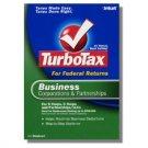TurboTax Business 2008 Federal Return Corporations and Partnerships Turbo Tax NEW NIB