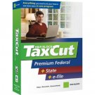 2007 Taxcut Premium Federal + State Imports Turbo tax NEW