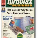 1996 TurboTax Business Federal Intuit Turbo Tax