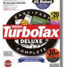 1998 TurboTax Federal Deluxe 1998 Windows Turbo Tax